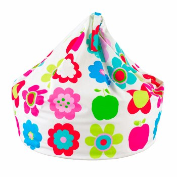 Bright Flowers Beanbag by Aspace