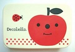 Decolello apple lunch box