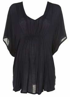 Maternity Pleat Front Tunic Topshop