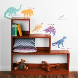 Dinosaurs Fabric wall stickers by love mae