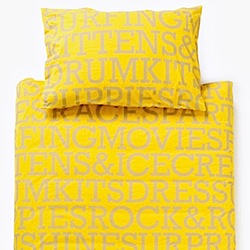 sunshine bedding by kideko
