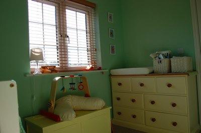 window shot of sarah's unisex nursery