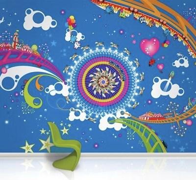 Wallpaper Murals by Funky Little Darlings