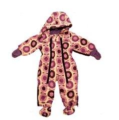 Katvig purple big apple snowsuit