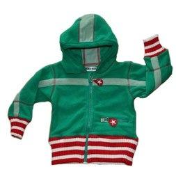 Kik Kid green fleece jacket