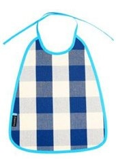 Ziestha blue check bib
