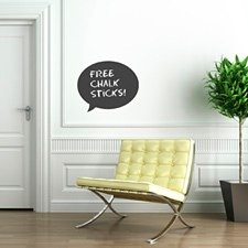 Speech Chalkboard Sticker
