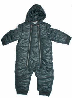 Holden Black Snow Suit by Molo
