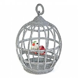 organic cotton crochet bird cage