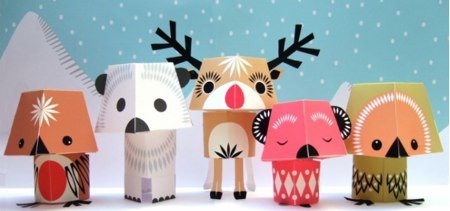 Christmas Creatures by Mibostudio