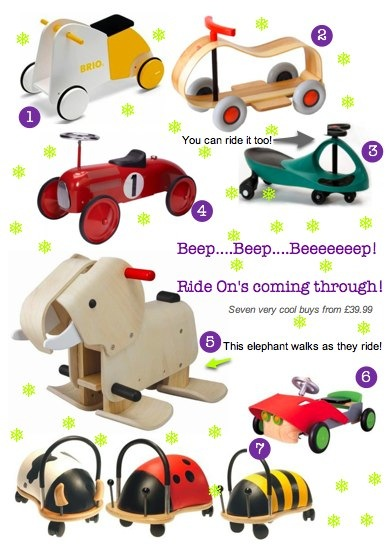 Bambino Goodies Christmas Guide Ride On Toys