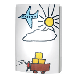 Illuminate your childs artwork with the CreaLamp by Minui