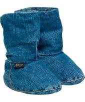 Lumberjack Denim soft sole booties by Elodie Details
