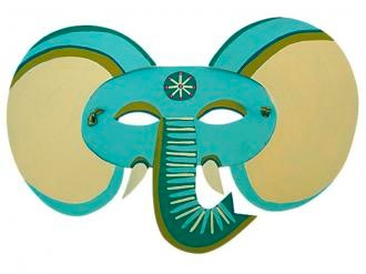 elephant mask by zid zid