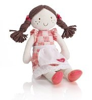 small traditional rag doll by M&S