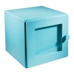 blue storage cube by vertbaudet