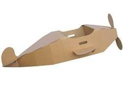 paperpod cardboard plane