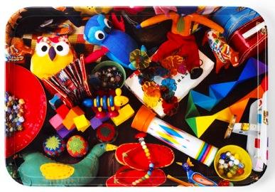 Colour Tray Toys by Ella Doran