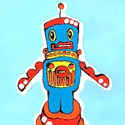 jessica graham robot print