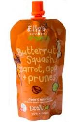 ella's kitchen butternut squash, carrot, apricots, and prunes