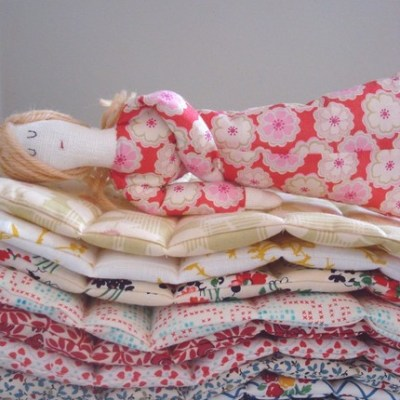 Handmade Princess and The Pea Set