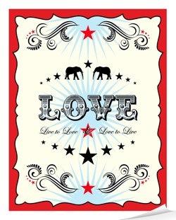 love carnival poster