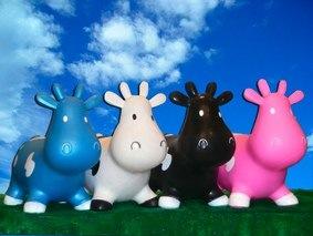 happy hopperz cow