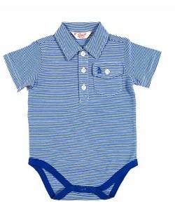 Jack Striped Onesie by Original Penguin