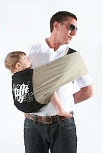 man using lifft sling