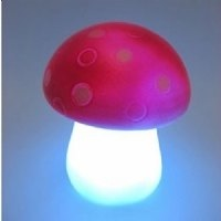 mini toadstool LED light