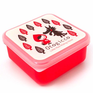 Decole Small Plastic Container red riding hood