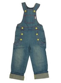 Katvig grow fit dungerees and jeans