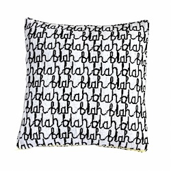donna wilson blah blah cushion