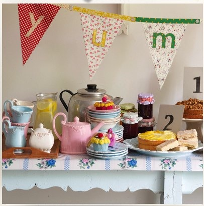 Floral Alphabet Bunting from BombayDuck
