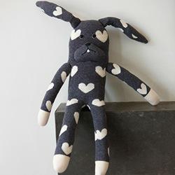 grey rabbit by anne-claire petit