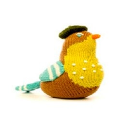 Blabla Kids Trumpet Bird Rattle