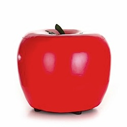 red apple stool