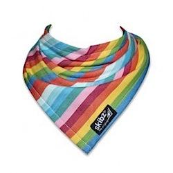 rainbow skibz bib