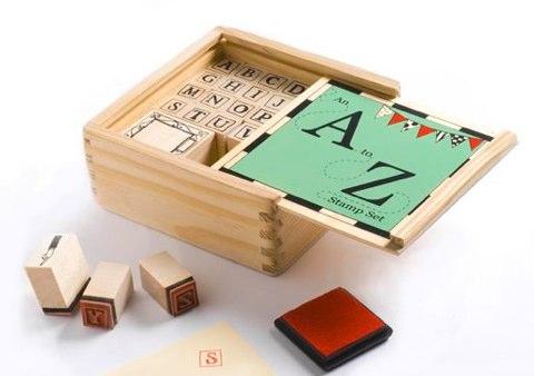 Alice Melvin A-Z Alphabet Stamps