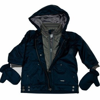 Indigo trip navy winter jacket - Absorba
