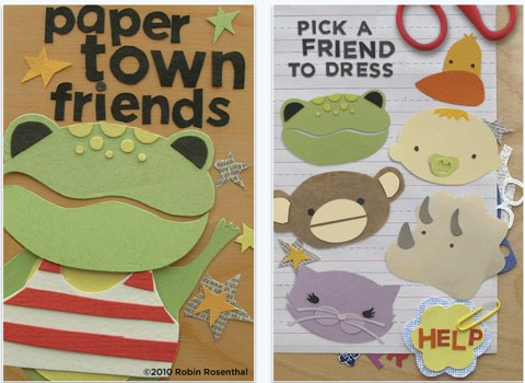 Paper Town Friends for iPhone, iPod touch, and iPad on the iTunes App Store