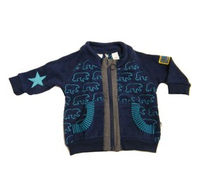 Green Cotton medieval blue starbear fleece jacket (Joachim) - Tootsie and Fudge.jpg