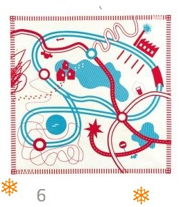Tapikid Racy Red Playmat