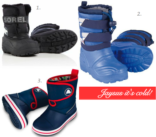 snow boots for toddlers