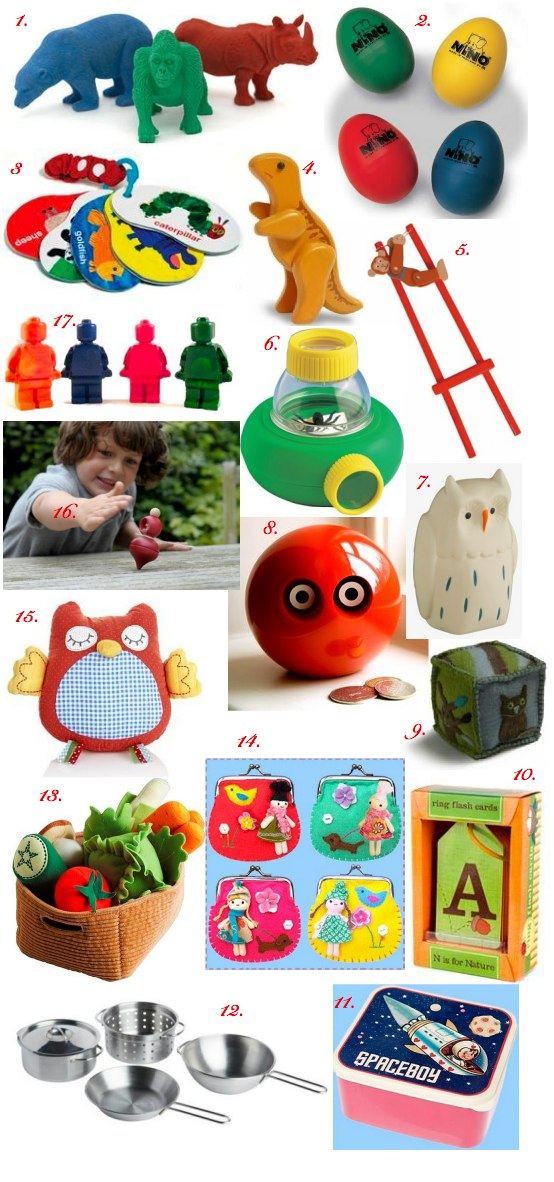 stocking filler ideas bambino goodies