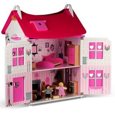 wooden dolls house by Janod