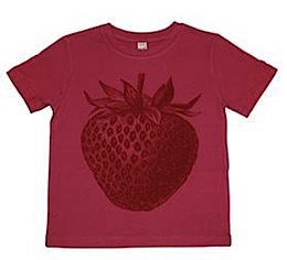 thornback and peel strawberry t-shirt