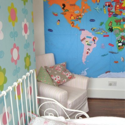 Nursery tour: Daisy's Eclectic Floral Room