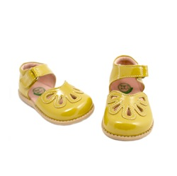 Petal Patent Yellow Livie & Luca shoes
