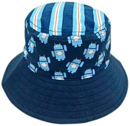 LocoLili Hats Robots Reversible Sun Hat